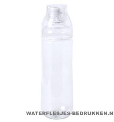 Bidon drinktuit 750ml bedrukt transparant